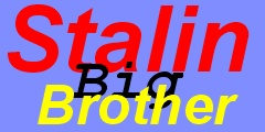 Stalin: Big Brother (Wielki Brat). www.stalin.of.pl